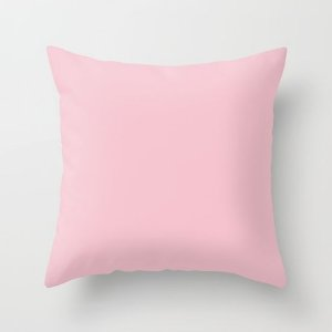 Capa de almofada Rosa bebê