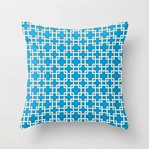 Capa de almofada Plummer Azul Céu