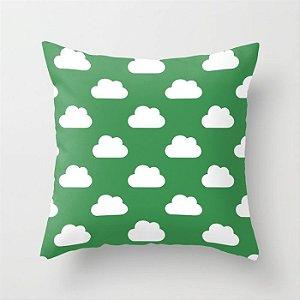 Capa de almofada Céu Verde