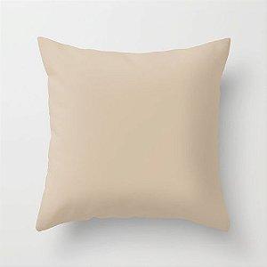 Capa de almofada Bege