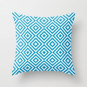Capa de almofada Dizzy Azul Céu