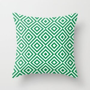 Capa de almofada Dizzy Verde