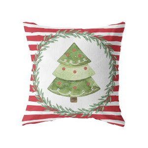 Capa de almofada Árvore de Natal (mais cores)
