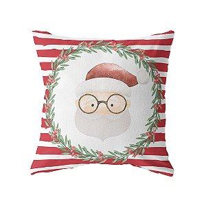 Capa de almofada Papai Noel (mais cores)