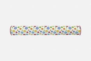 Par de rolos laterais para berço Bolas Coloridas 2