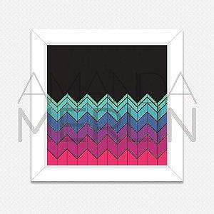 Quadro Zigzag Colors