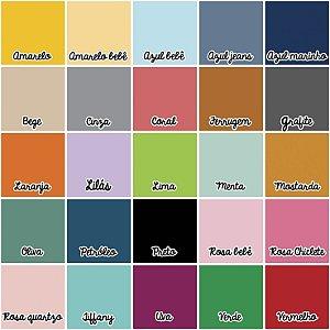 Rolo peseira Quadrados  (várias cores)