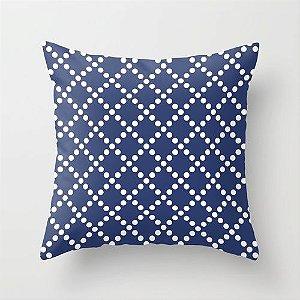 Capa de almofada Pearl Azul Marinho