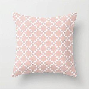 Capa de almofada Pearl Rosa Quartzo