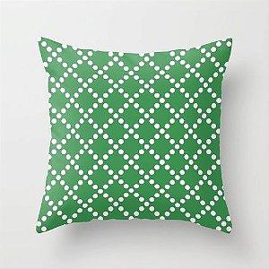 Capa de almofada Pearl Verde