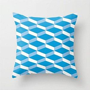Capa de almofada 3D Azul Céu