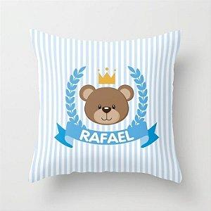 Capa de almofada Royal Bear Azul