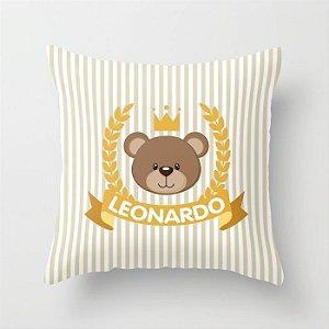 Capa de almofada Royal Bear Bege