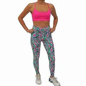 1750e509c8b07 legging calça plus poliamida fusô cintura size fitness alta azul