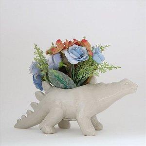 Cachepot em cerâmica - Stegosaurus