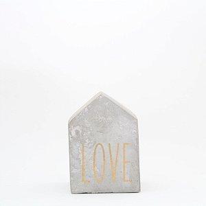 Casinha em cimento - Love