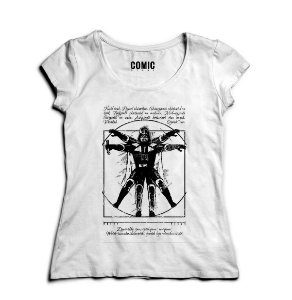 Camiseta Star Wars Darth Vader Vitruvian
