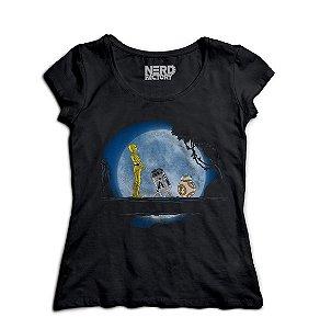 Camiseta Star Wars: R2D2 C3PO BB8