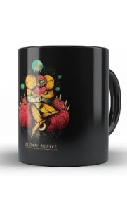 Caneca Metroid Bouty Hunter - Nerd e Geek - Presentes Criativos