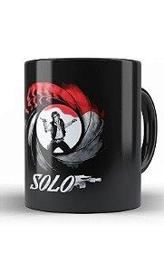 Caneca Star Wars: Han Solo Preparado para Matar