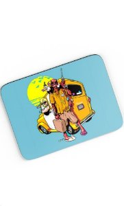Mouse Pad Travel - Nerd e Geek - Presentes Criativos