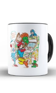 Caneca Mario Game - Nerd e Geek - Presentes Criativos