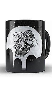 Caneca Super Mario Night
