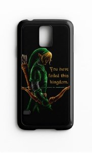 Capa para Celular The Legend Of  Zelda Galaxy S4/S5 Iphone S4 - Nerd e Geek - Presentes Criativos