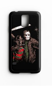 Capa para Celular Jason vs Freed Galaxy S4/S5 Iphone S4 - Nerd e Geek - Presentes Criativos