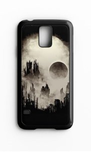 Capa para Celular Grand Cidade Skull Galaxy S4/S5 Iphone S4 - Nerd e Geek - Presentes Criativos