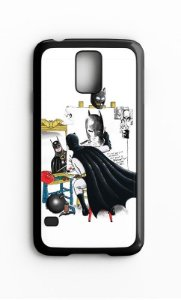Capa para Celular Batman Galaxy S4/S5 Iphone S4 - Nerd e Geek - Presentes Criativos
