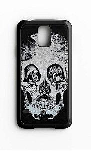 Capa para Celular Darth Vader Skull Galaxy S4/S5 Iphone S4