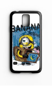Capa para Celular Minions Galaxy S4/S5 Iphone S4 - Nerd e Geek - Presentes Criativos