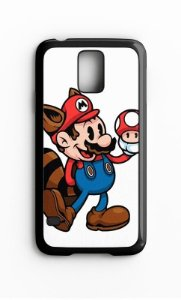 Capa para Celular Super Mario Bros Galaxy S4/S5 Iphone S4 - Nerd e Geek - Presentes Criativos