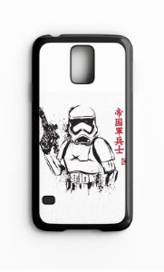 Capa para Celular Star Wars Stormtrooper Galaxy S4/S5 Iphone S4