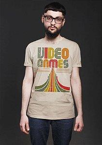 Camiseta Masculina  Video Games - Nerd e Geek - Presentes Criativos