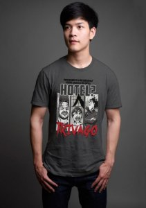 Camiseta Masculina  Hotel Trivago - Nerd e Geek - Presentes Criativos