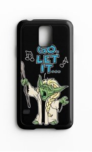 Capa para Celular Go Let It Galaxy S4/S5 Iphone S4 - Nerd e Geek - Presentes Criativos