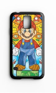 Capa para Celular Mario Bros Galaxy S4/S5 Iphone S4 - Nerd e Geek - Presentes Criativos