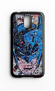 Capa para Celular Batman em Quadrinhos Galaxy S4/S5 Iphone S4 - Nerd e Geek - Presentes Criativos