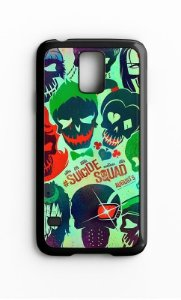 Capa para Celular Esquadrão Suicida Galaxy S4/S5 Iphone S4 - Nerd e Geek - Presentes Criativos