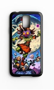 Capa para Celular The Legend of Zelda: Majora's Mask Galaxy S4/S5 Iphone S4 - Nerd e Geek - Presentes Criativos