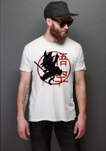 Camiseta Dragon Ball Nerd e Geek - Presentes Criativos