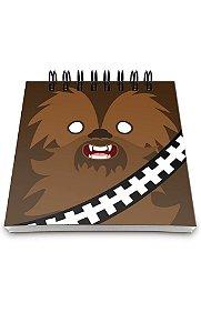 Bloco de Anotações Star Wars Geek Bacca Presentes Criativos