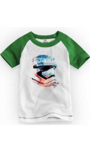 Camiseta Infantil Star Wars Stormtrooper Helmet 1