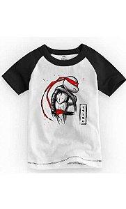 Camiseta Infantil Teenage Mutant Ninja Turtles Rafael
