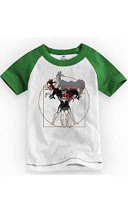 Camiseta Infantil Vitruvian Venon Spiderman 1