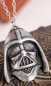 Colar Star Wars Darth Vader Presentes Criativos