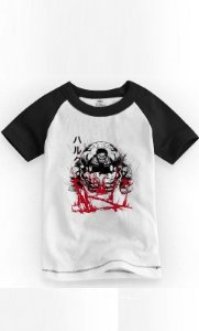 Camiseta Infantil Hulk Anger