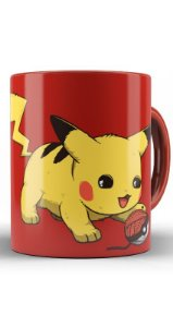 Caneca Pikachu - Nerd e Geek - Presentes Criativos